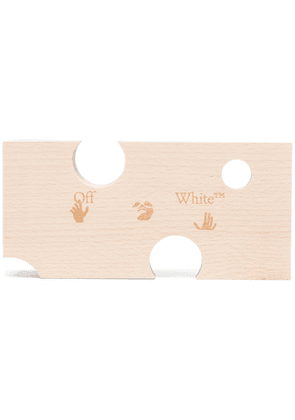 Off-White cut-out door stopper - Neutrals