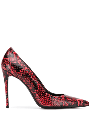Giuliano Galiano Elise pointed pumps - Red