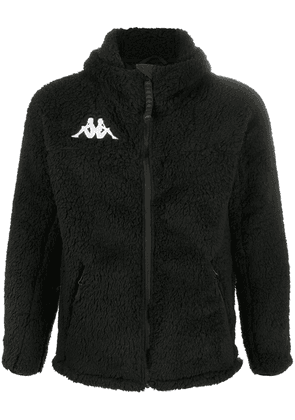 Kappa 6Cento textured hooded jacket - Black