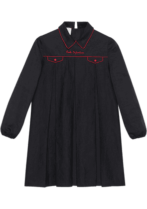 Gucci petit top with embroidery - Black