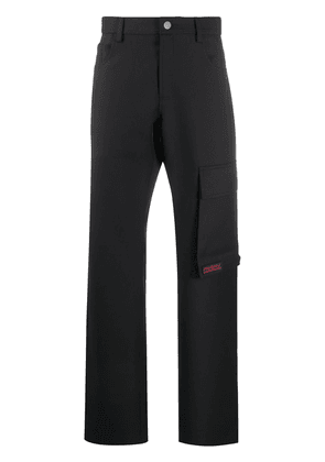 MISBHV high-waisted technical trousers - Black