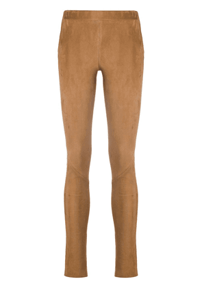 Arma high-rise leggings - Brown