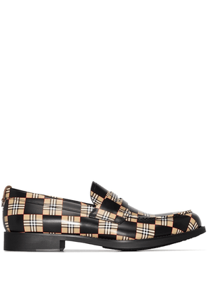 Burberry Vintage Check slip-on loafers - Brown