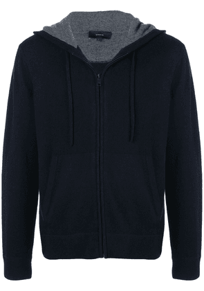 Vince cashmere zip-up hoodie - Blue