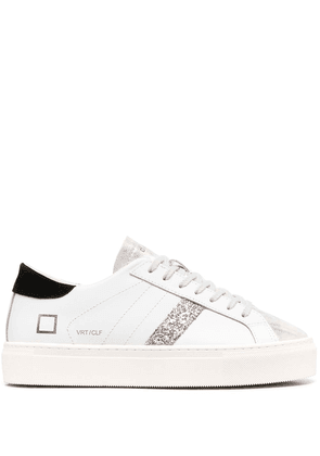 D.A.T.E. Hill leather low-top sneakers - White
