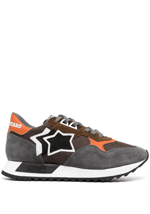 Atlantic Stars colour-block panelled sneaker - Grey