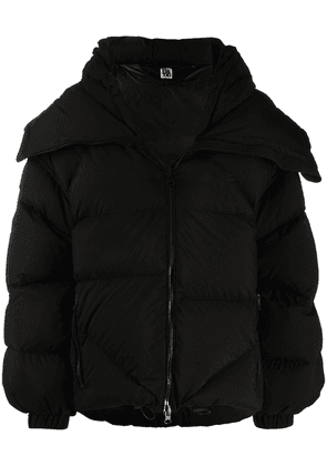 Bacon oversized puffer jacket - Black