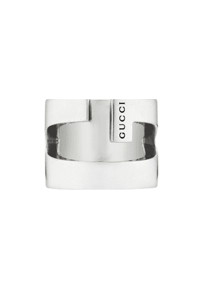 Gucci engraved G ring - SILVER