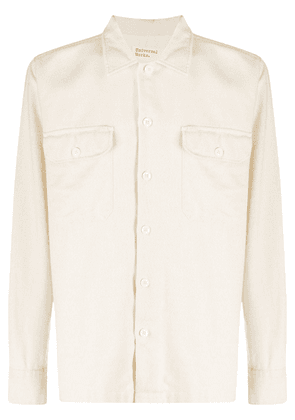 Universal Works long-sleeve utility shirt - Neutrals