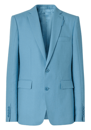Burberry English fit tailored jacket - Blue