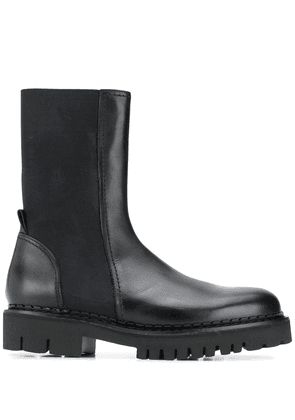 Nº21 Leather Chelsea Boots - Black