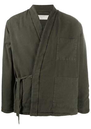Universal Works Kyoto work jacket - Green