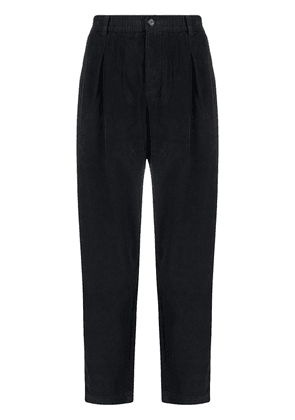 Universal Works dropped-crotch corduroy trousers - Blue