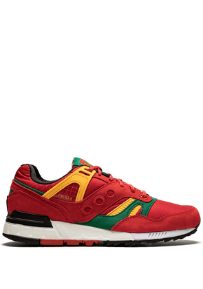 Saucony Grid SD sneakers - RED/GRN/YEL