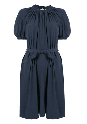 Eudon Choi Marlon belted dress - Blue