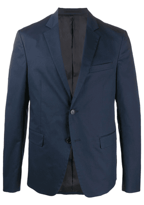 Prada single-breasted long-sleeve jacket - Blue