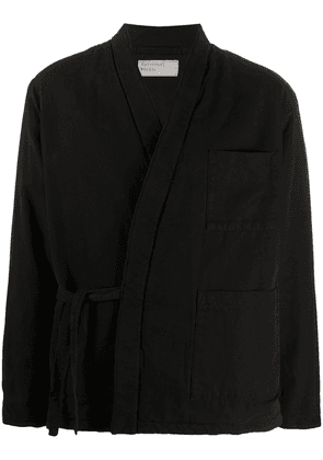 Universal Works Kyoto work jacket - Black
