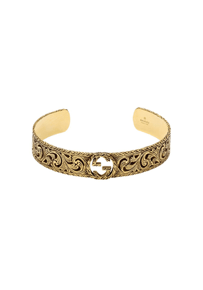 Gucci Yellow gold bracelet with Interlocking G - 0718