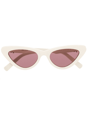 Just Cavalli cat-eye sunglasses - White