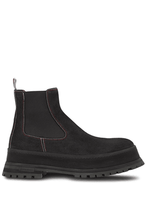 Burberry ankle-length Chelsea boots - Black