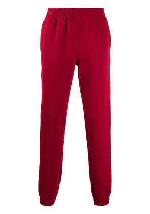 Styland slip-on track trousers - Red