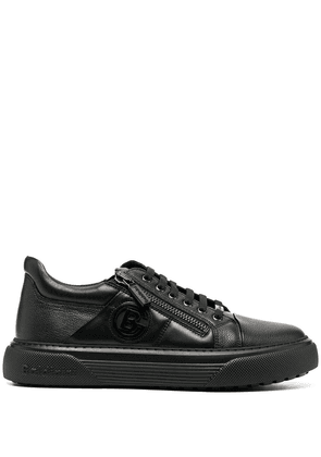 Baldinini low-top leather trainers - Black