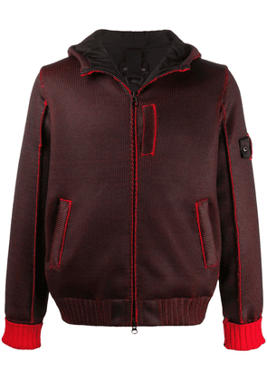 Stone Island Shadow Project hooded jacket - Red