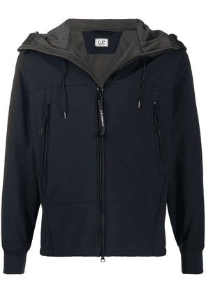CP COMPANY hooded zip-fastening jacket - Blue