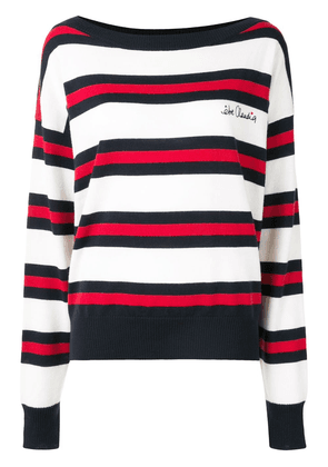 Être Cécile merino striped jumper - Neutrals