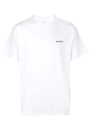 Carhartt embroidered logo T-shirt - White