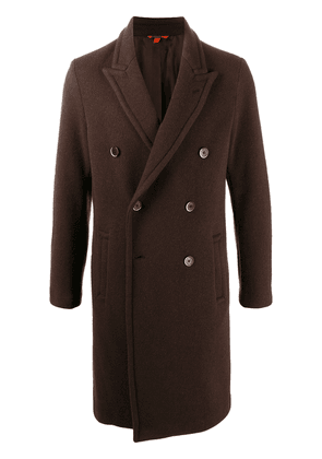 Barena double-breasted wool coat - Brown
