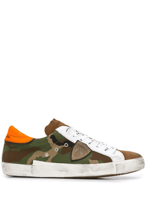 Philippe Model Paris PRSX camouflage sneakers - Green
