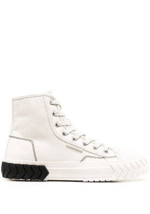Both Tyres high-top sneakers - White