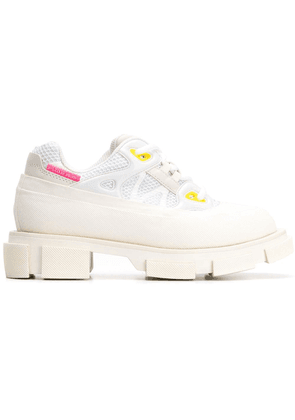 Both chunky sole sneakers - White
