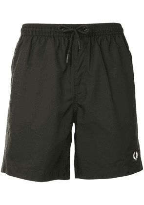 Fred Perry classic swimming trunks - Black
