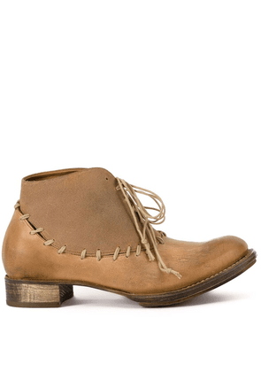 Cherevichkiotvichki lace up boots - Neutrals