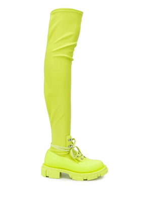 Both Gao stretch boots - Green