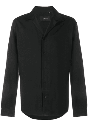 Costumein button-up long-sleeved shirt - Black