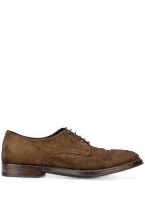 Alberto Fasciani lace-up derby shoes - Brown
