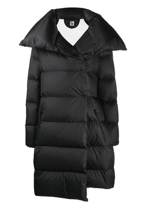 Bacon oversized tie-waist puffer coat - Black