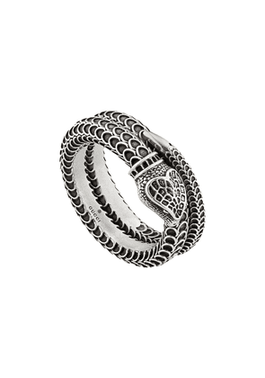 Gucci Gucci Garden snake-inspired ring - Silver