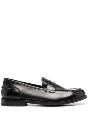 Alberto Fasciani Penny slip-on loafers - Black