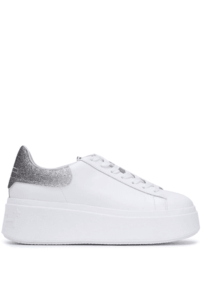 Ash Moby Glitter Combo low-top sneakers - White