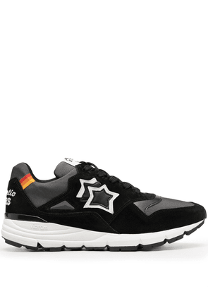 Atlantic Stars star-detail lace-up trainers - Black