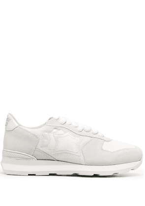 Atlantic Stars two-tone lace-up trainers - White