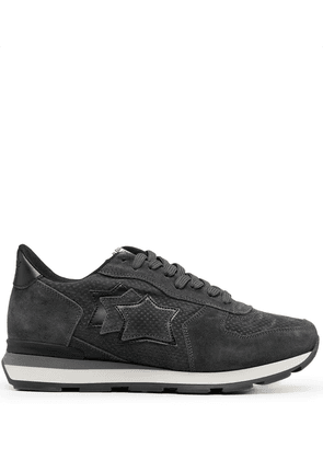 Atlantic Stars lace-up suede trainers - Grey