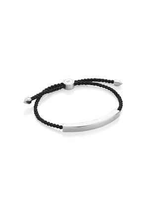 Monica Vinader Linear Large bracelet - Black