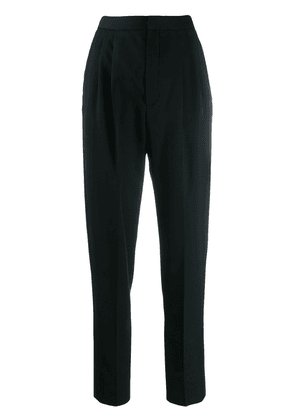 Saint Laurent tapered tailored trousers - Black