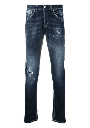 Dondup ripped skinny jeans - Blue