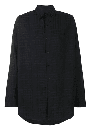 Costumein classic button-up shirt - Black